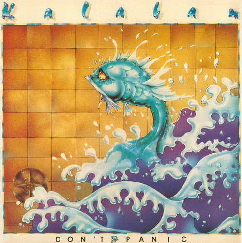 Don't Panic  by KALABAN album cover