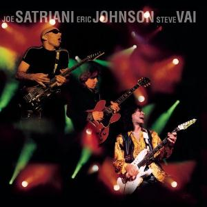 Steve Vai - Joe Satriani, Eric Johnson, Steve Vai - G3 Live In Concert CD (album) cover