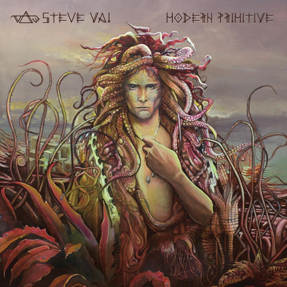 Modern Primitive by VAI, STEVE album cover