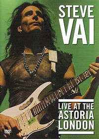Steve Vai - Live At The Astoria CD (album) cover