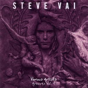 Steve Vai - Archives Vol.4: Various Artists CD (album) cover