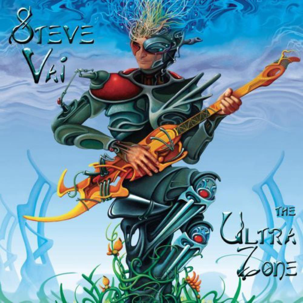 Steve Vai - The Ultra Zone CD (album) cover