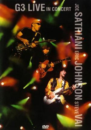 Steve Vai G3: Live in Concert album cover