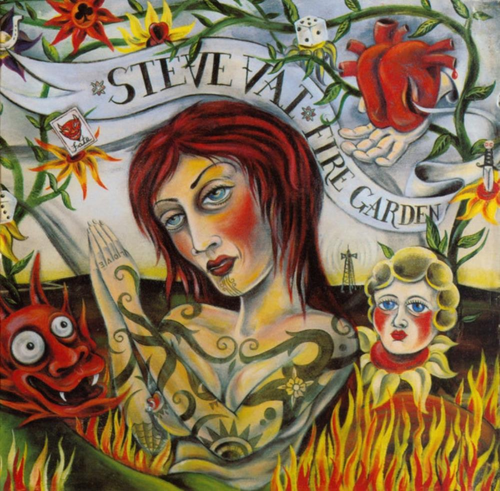 Steve Vai - Fire Garden CD (album) cover