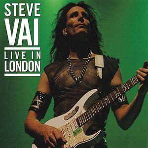 Steve Vai Live In London album cover