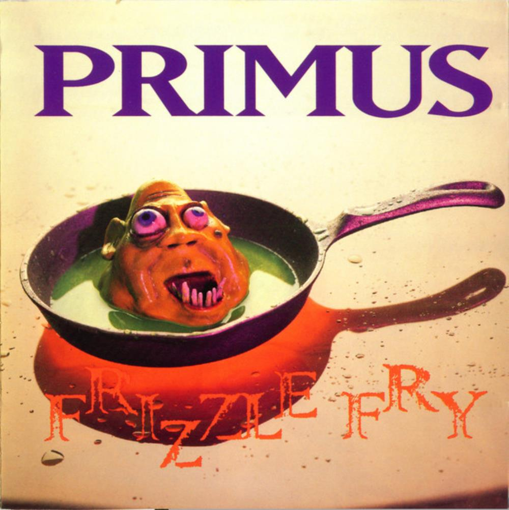 Primus - Frizzle Fry CD (album) cover
