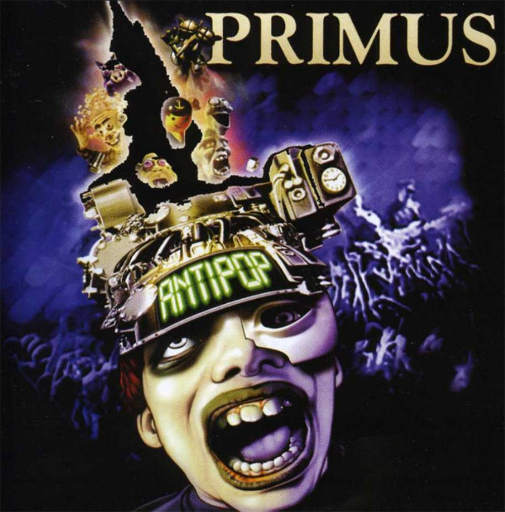 Primus - Antipop CD (album) cover