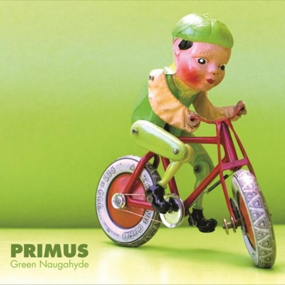 Green Naugahyde by PRIMUS album cover