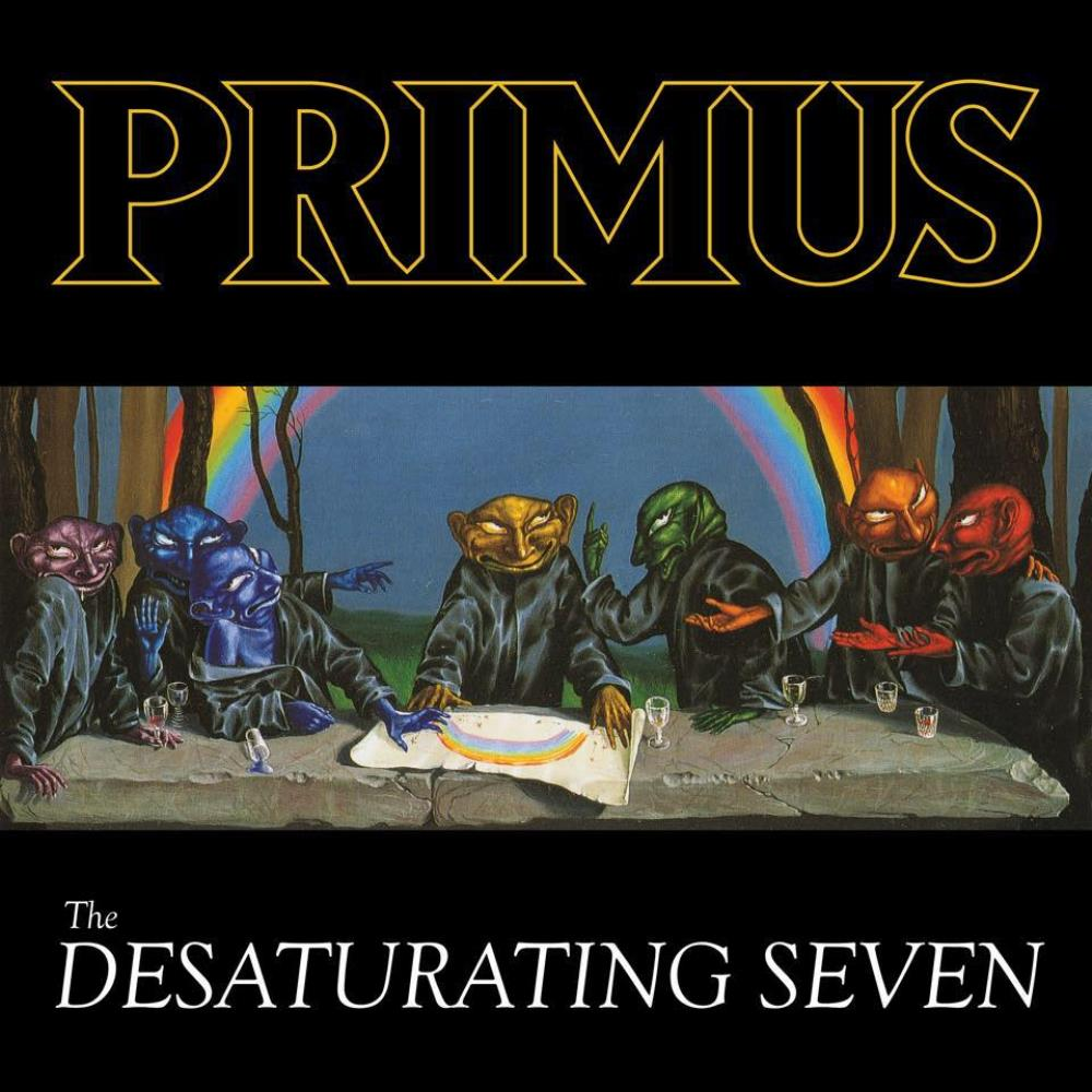 The Desaturating Seven by PRIMUS album cover
