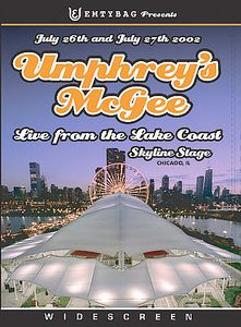 Umphrey's McGee Live from the Lake Coast album cover