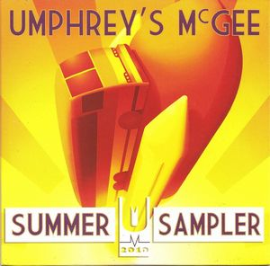 Umphrey's McGee - Summer Sampler 2010 CD (album) cover