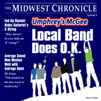 Umphrey's McGee Local Band Does OK album cover