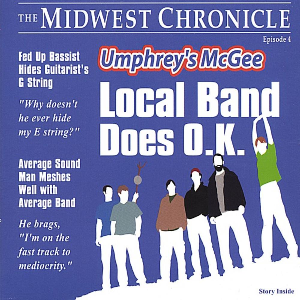 Local Band Does O.K. by UMPHREY'S MCGEE album cover