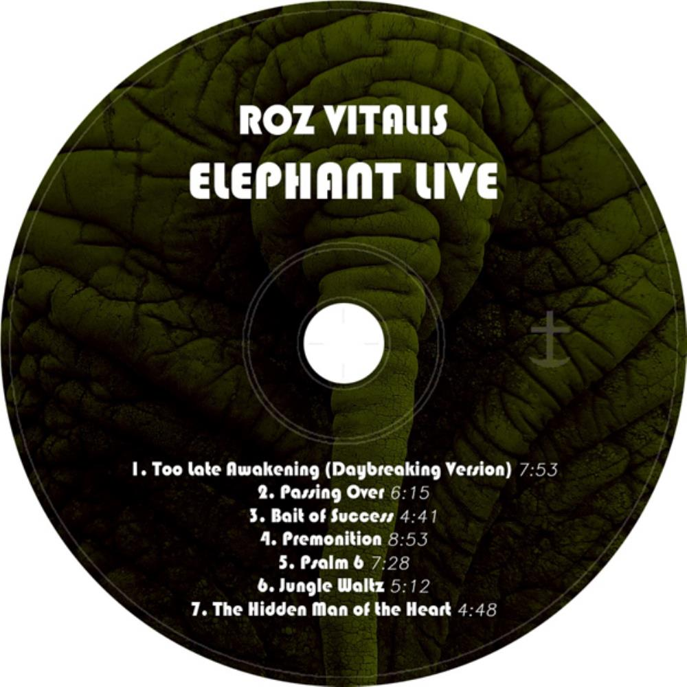 Elephant Live by ROZ VITALIS album cover