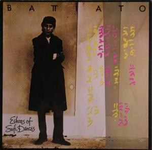 Franco Battiato Echoes of sufi dances album cover