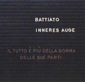 Franco Battiato Inneres auge album cover