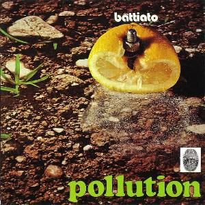 Franco Battiato Pollution album cover