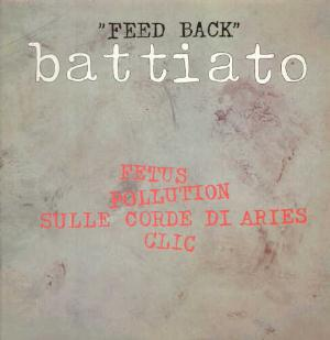 Franco Battiato Feed Back album cover