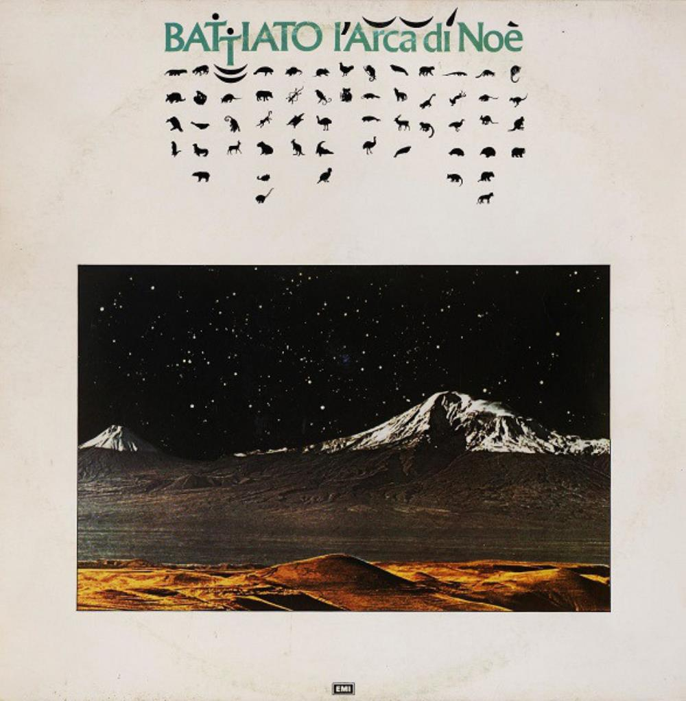 Franco Battiato - L'Arca Di Noè CD (album) cover