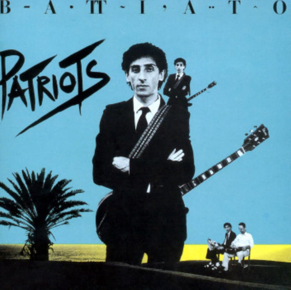 Franco Battiato Patriots album cover