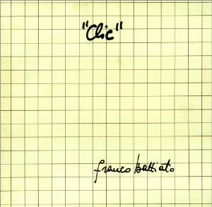 Franco Battiato Clic album cover