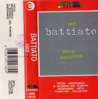 Franco Battiato - 1972 CD (album) cover