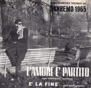Franco Battiato - L'amore � Partito CD (album) cover