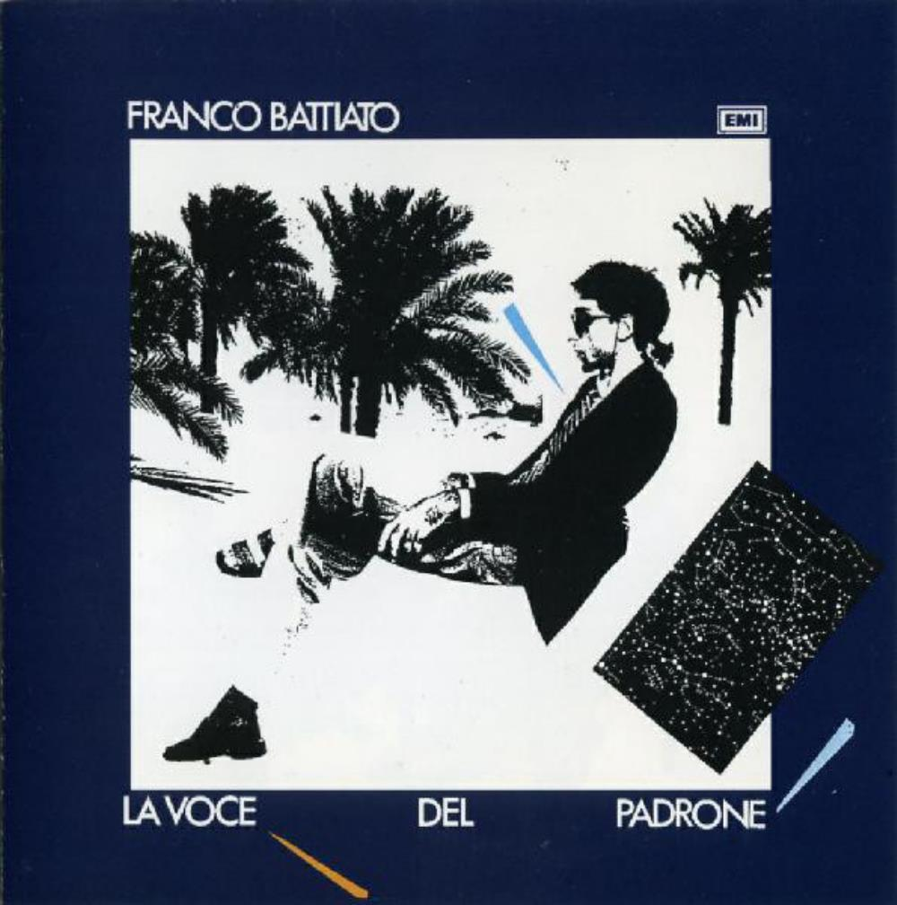 Franco Battiato - La Voce Del Padrone CD (album) cover