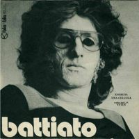 Franco Battiato Energia / Una Cellula album cover
