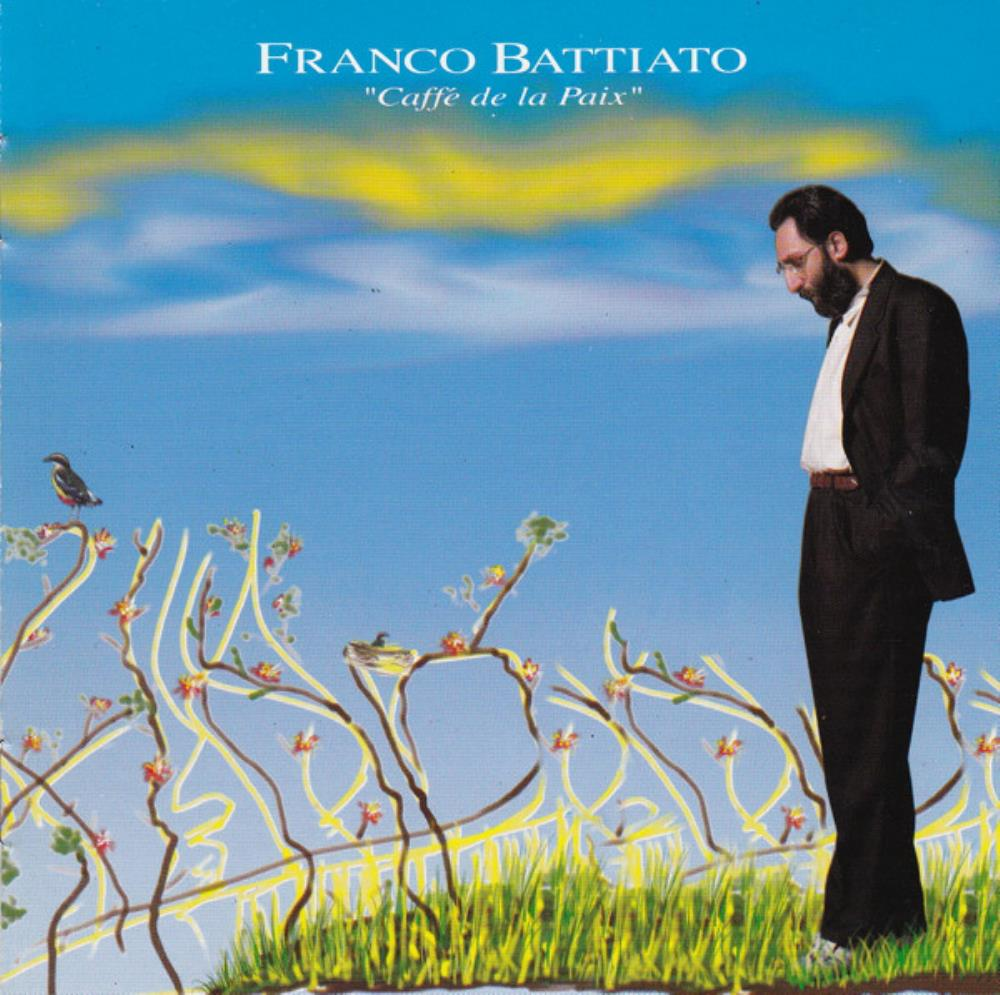 Franco Battiato - Caffé De La Paix CD (album) cover