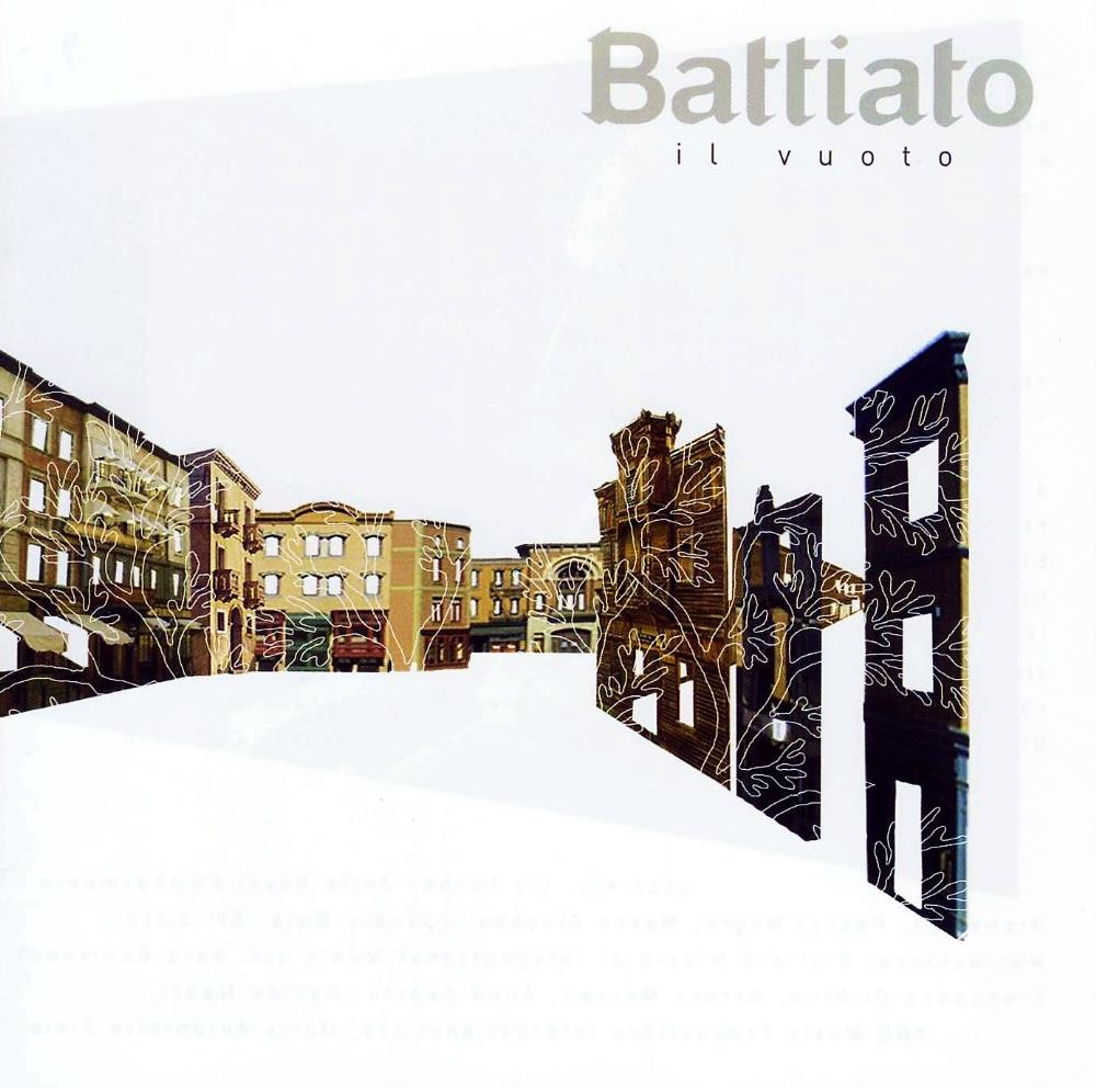 Franco Battiato - Il Vuoto CD (album) cover