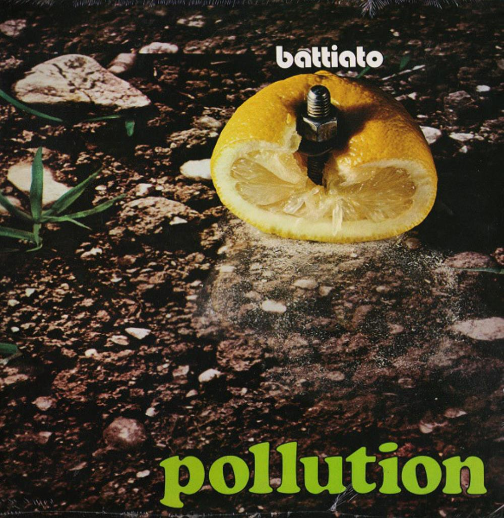 Pollution by BATTIATO, FRANCO album cover