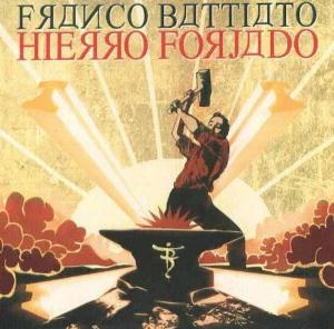 Franco Battiato Hierro Forjado album cover