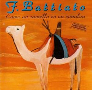 Franco Battiato - Como un camello en un canal�n CD (album) cover
