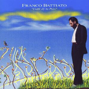 Franco Battiato - Caff� De La Paix CD (album) cover