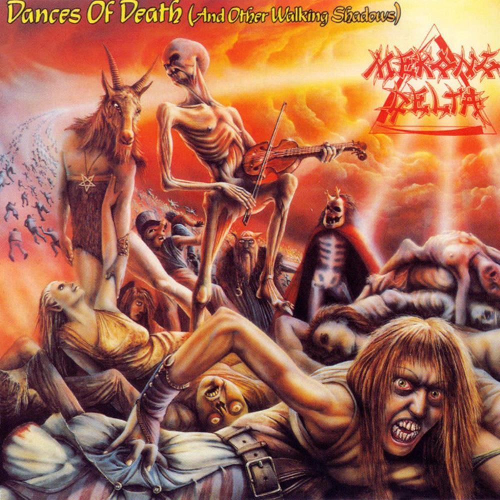 Mekong Delta - Dances Of Death (And Other Walking Shadows) CD (album) cover