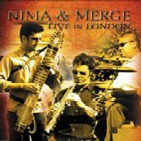 Nima & Merge - Live In London CD (album) cover