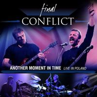 Final Conflict Another Moment in Time - Live In Poland album cover