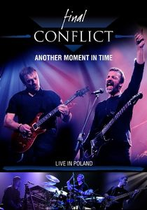 Final Conflict - Another Moment In Time - Live In Poland (DVD) CD (album) cover