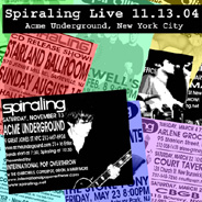 Spiraling Live in New York City by SPIRALING album cover