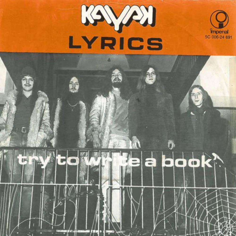 Kayak - Lyrics / Try to Write a Book CD (album) cover