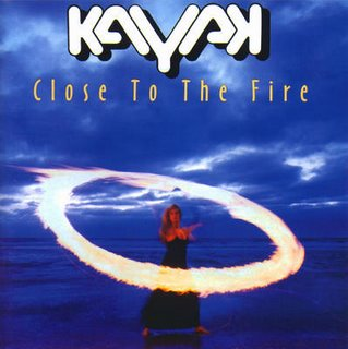Kayak Close To The Fire  album cover