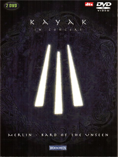 Kayak - In Concert - Merlin, Bard Of The Unseen CD (album) cover