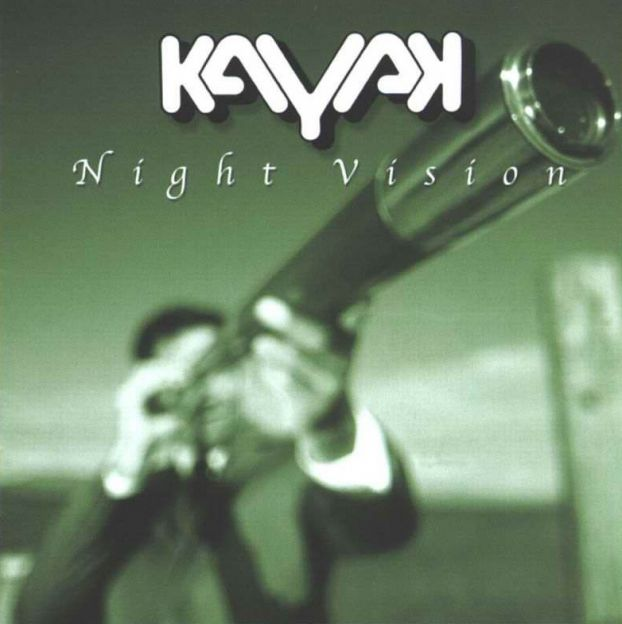 Kayak - Night Vision  CD (album) cover