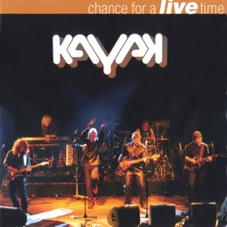 Kayak Chance For A Live Time  album cover