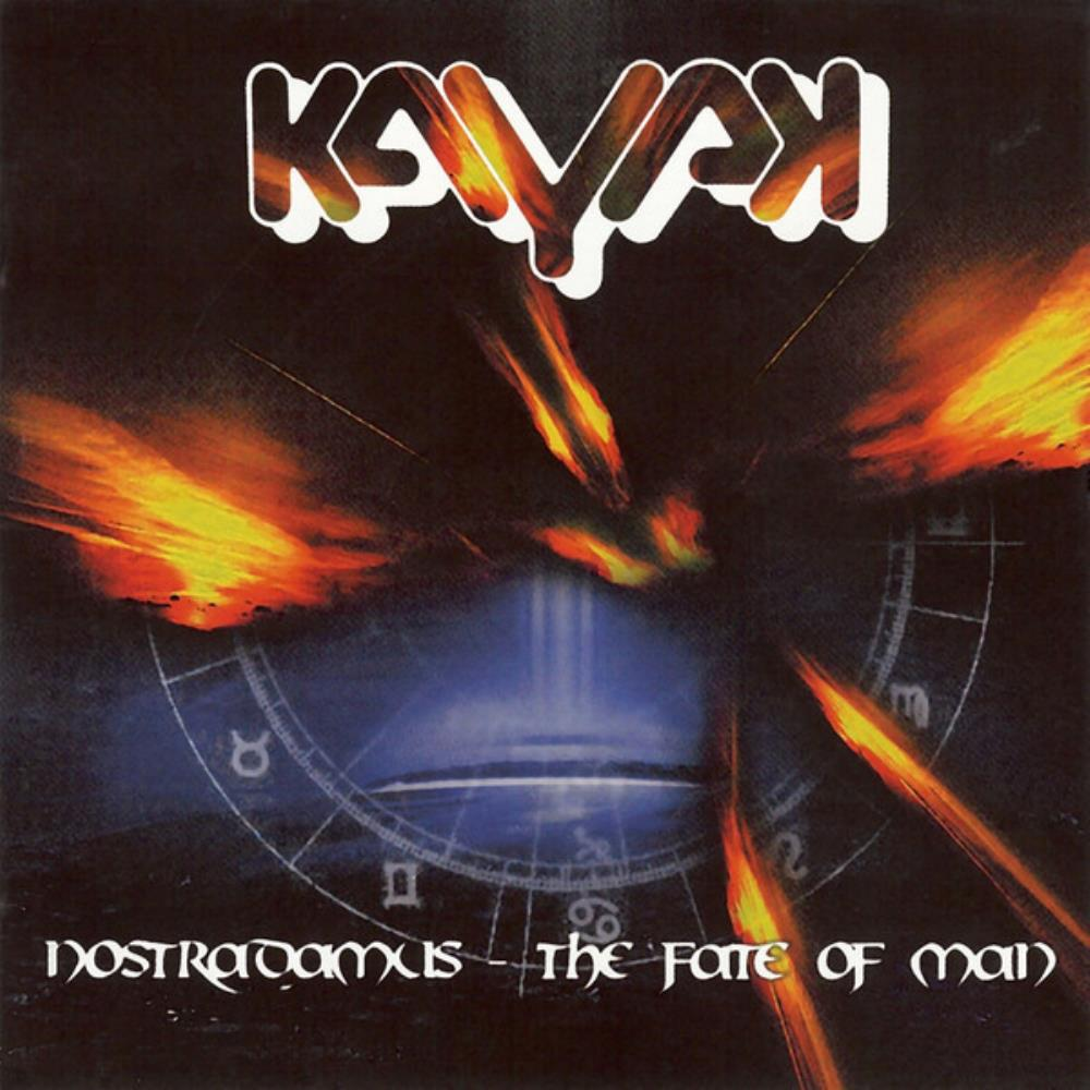Kayak - Nostradamus - The Fate Of Man CD (album) cover