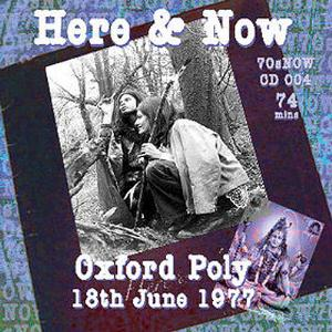 Here & Now Oxford Poly album cover