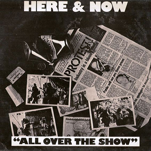Here & Now - All Over The Show CD (album) cover