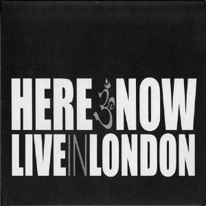 Here & Now Live In London album cover