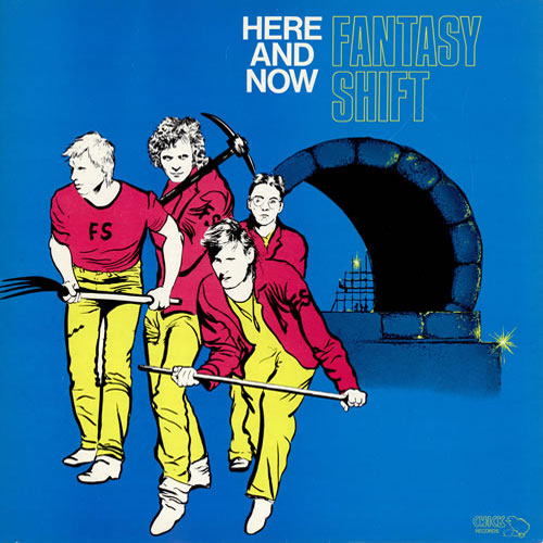 Here & Now - Fantasy Shift CD (album) cover